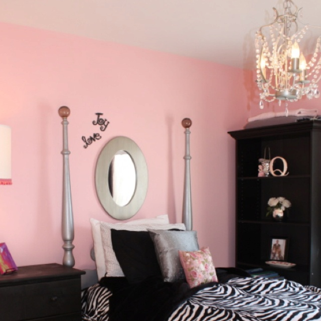 Pink And Black Girls Bedrooms 133 best pink zebra bedrooms www.glimmersprinkles images on