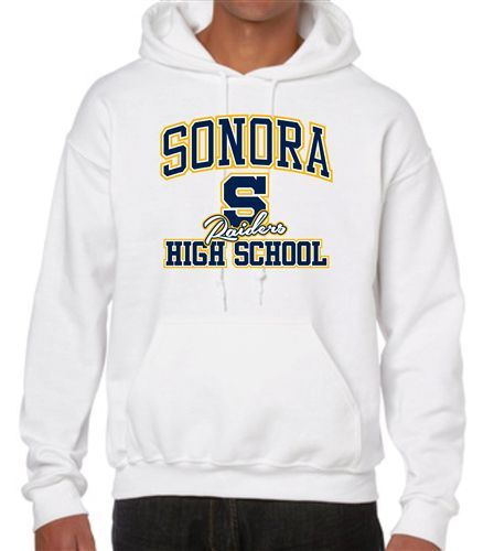 Eclectic printing & design embroidery prints custom hooded sweater – School outfits highschool fall sweaters