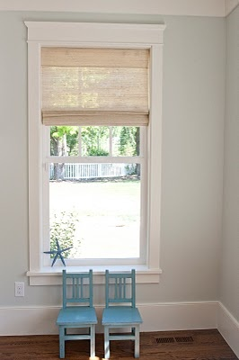 Ensuite window and architrave