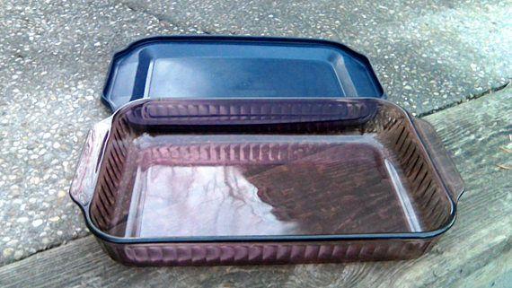 Pyrex Glass Lasagna Pan W Lid 3 Qt Pyrex Cranberry Lasagna Pan
