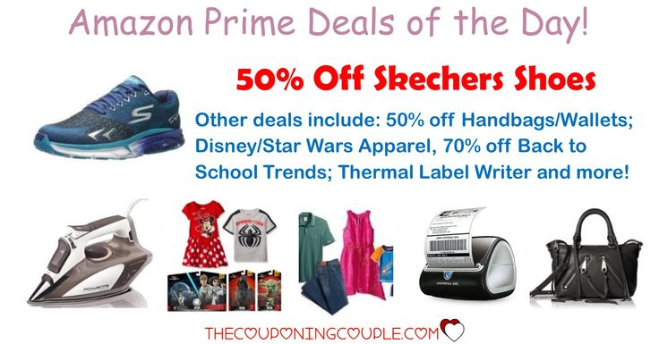 HOT AMAZON PRIME DEALS!! Get Skecher Shoes starting at $27.99! Plus other HOT deals!  Click the link below to get all of the details ► http://www.thecouponingcouple.com/amazon-prime-deals-of-the-day/ #Coupons #Couponing #CouponCommunity  Visit us at http://www.thecouponingcouple.com for more great posts!