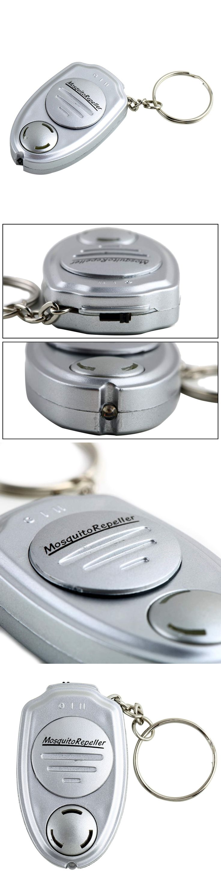 Outdoor Camping Fishing Travel Key Clip Electronic Ultrasonic Mosquito Pest Mouse Killer Magnetic Repeller