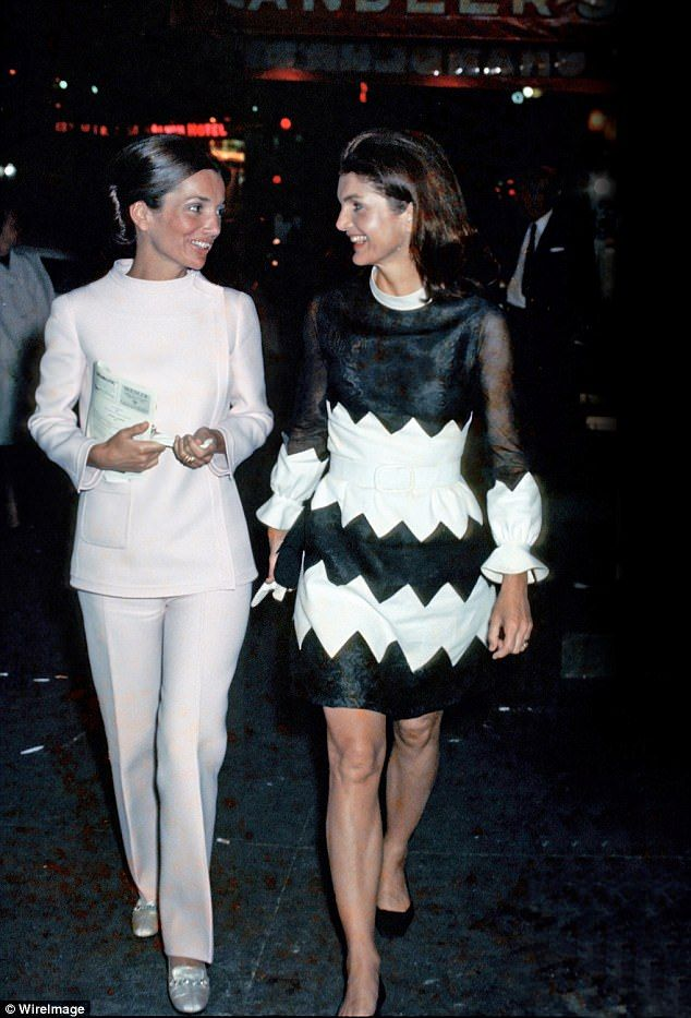 Lee Radziwill (left) and Jackie Onassis had a turbulent relationship - the Bouvier sisters when they were youngerwere two of the most glamorous women of their generation