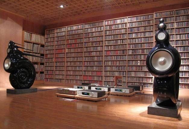 Rooms: B&W Speakers