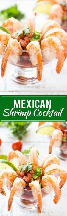 This recipe for mexi This recipe for mexican shrimp cocktail...  This recipe for mexi This recipe for mexican shrimp cocktail (coctel de camarones) is fresh shrimp served with a zesty cocktail sauce and a refreshing tomato avocado relish. Its an easy and elegant appetizer or light lunch! Recipe : http://ift.tt/1hGiZgA And @ItsNutella  http://ift.tt/2v8iUYW