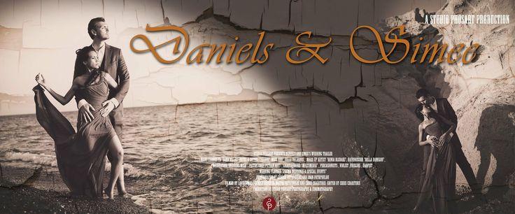 "Wedding in Santorini Greece | Daniels & Simee | Coming soon.... Daniels and Simee, a wonderful couple who ""made the world their home"" (as th..."