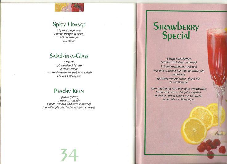 Soured Sweetness: Jack Lalanne juicing recipes