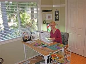 9 best sewing guest room images on Pinterest | Offices, Sewing rooms ...