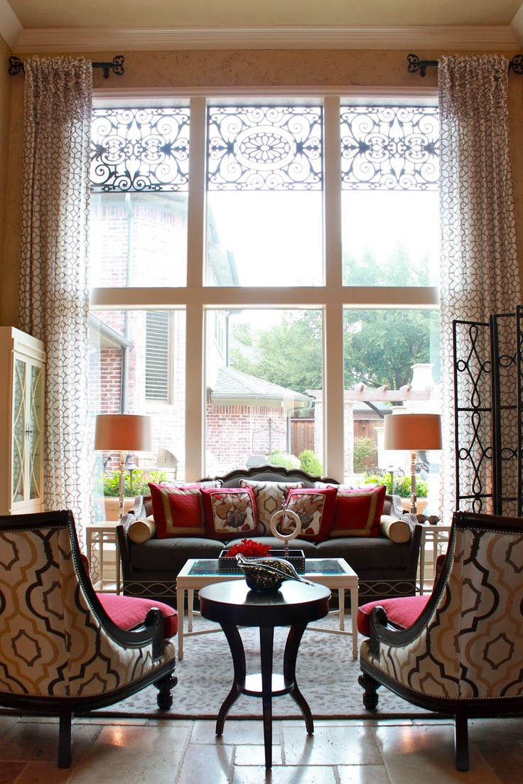 Living Room Window Treatments 25 Best Ideas About Large Window Coverings On Pinterest Large