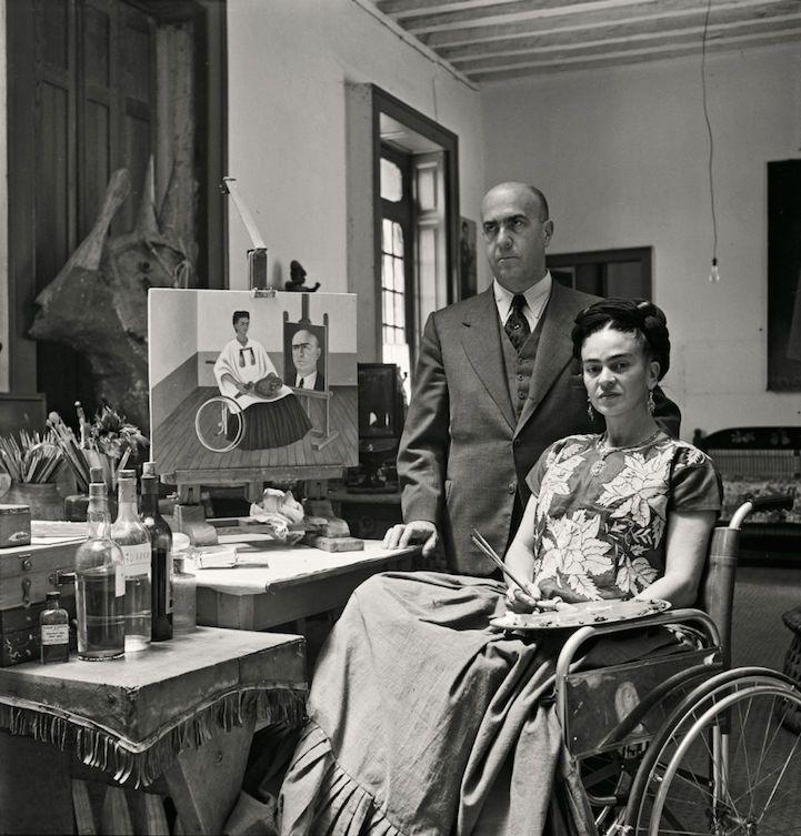 Los últimos días de Frida Kahlo en fotografías.