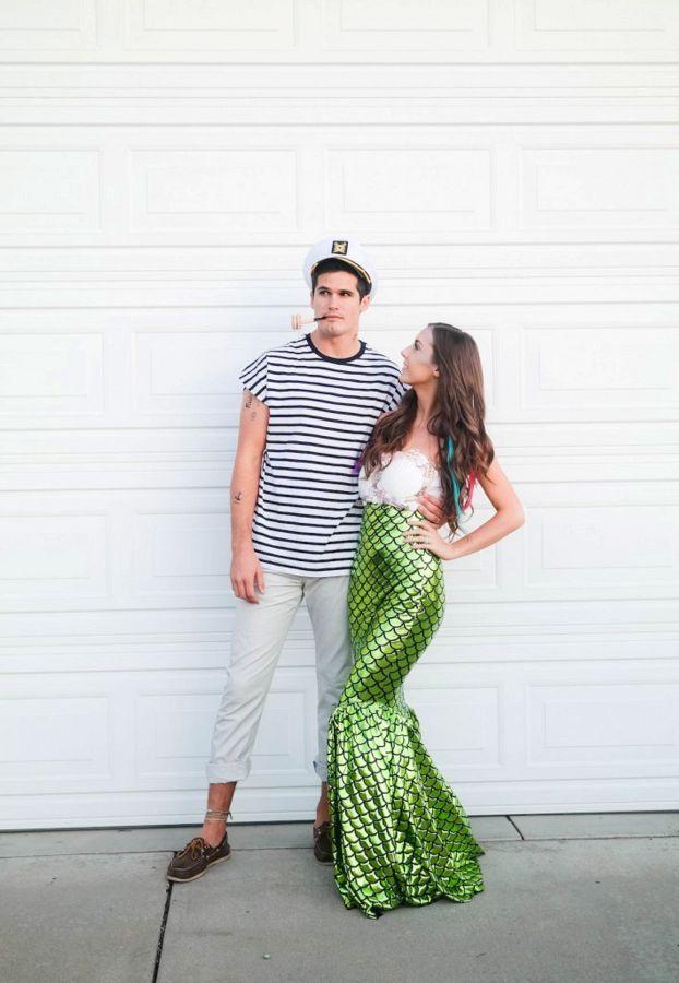 Mermaid and sailor/prince eric