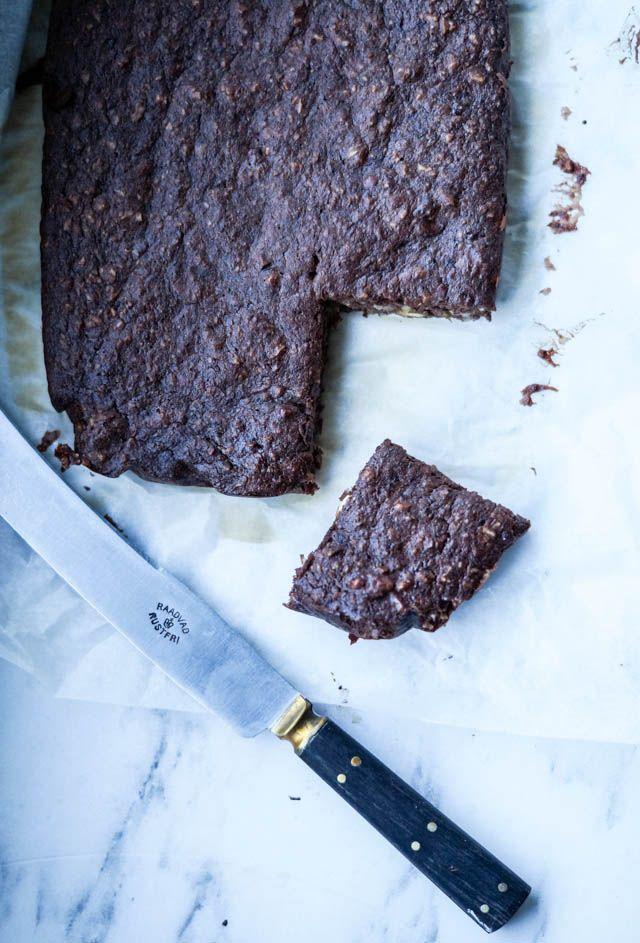 Sund chokoladekage uden mel og sukker