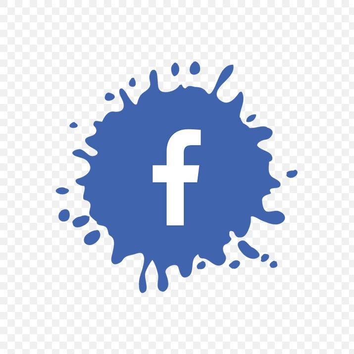 Splash Facebook Icon Png Image Free Download Facebook Icon Png Vector Icons Free Flower Png Images