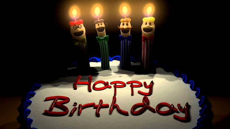 Happy birthday! Enjoy this barbershop quartet on your special day! Make a wish…