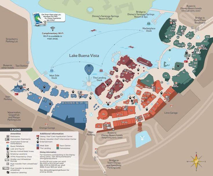 May 2016 update: Disney Springs Map.jpg Kenny the Pirate