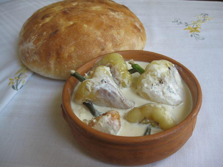 Maz me speca albanian food pinterest duke for Albanian cuisine kuzhina shqiptare photos