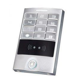 Кодовая клавиатура YLI YK-1168B YK-1168B Кодовая клавиатура, встроенный считыватель проксимити карт и брелков, 2000 кодов и карт, расстояние считывания карт 3-6см, режимы работы: импульсный, триггерный, встроенная кнопка звонок, корпус алюминиевый сплав влагозащищенный IP-65, рабочее напряжение DC 12V, рабочая температура -40...60C, 125Lx83Wx21.7D(mm), Вес: 0.7 Kg.  7 648.13 р. http://магазин.слаботочка-спб.рф/index.php?route=product/product&product_id=646