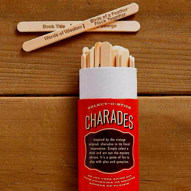 Charades popsicle sticks these are a few of my for How to make things out of sticks
