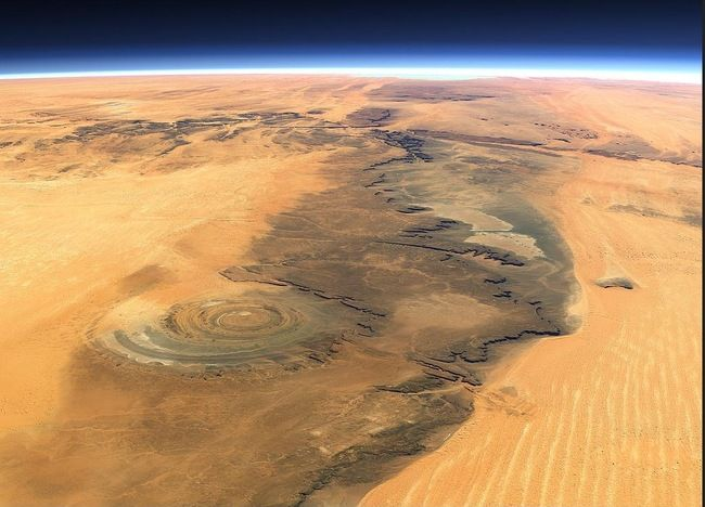 This Is What The Largest Hot Desert In The World Looks Like From Space.   Exchequer - A World of Your Finance