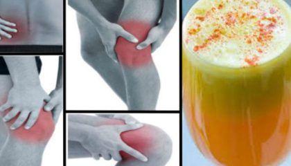 Zeg maar dag tegen pijn in je gewrichten, benen en rug met deze bewezen anti-inflammatoire smoothie