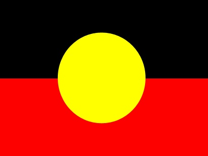 The Australian Aboriginal flag was designed by watercolour artist Harold Thomas, a descendant from the Luritja Aboriginal People in the region of Central Australia.Designed as a unifying symbol for Aboriginal People fighting for the return of their traditional lands Thomas said I wanted to make it unsettling. Light colour at the bottom and the dark on top.It represents the aboriginal people walking on top of the land.