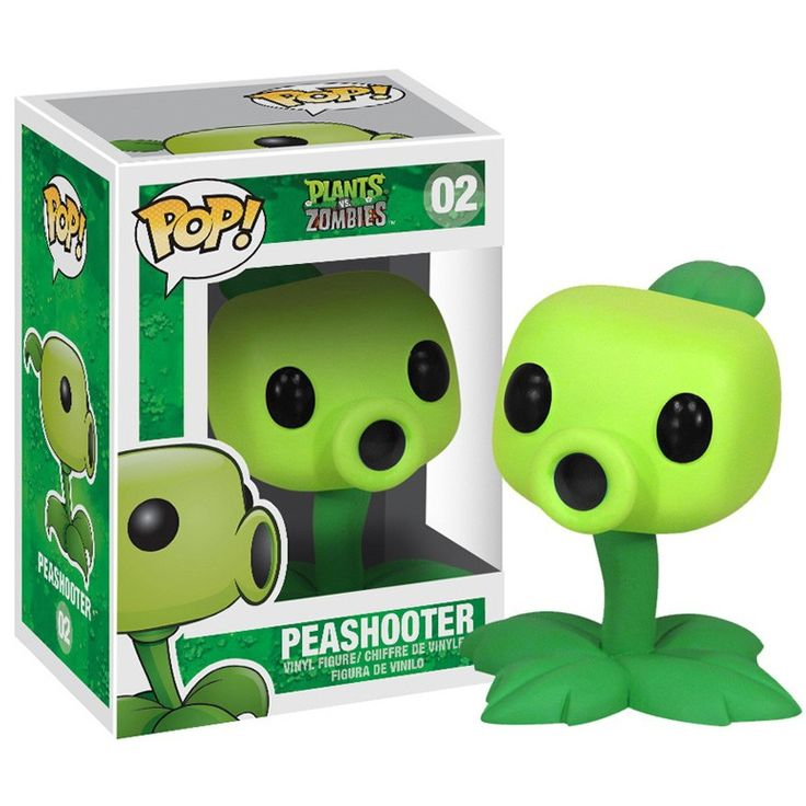 Plants vs. Zombies Pop! Vinyl Figure Peashooter - $5 to $10 - Price