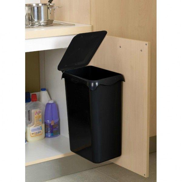 Poubelle de placard Portasac - 23 L - noir - ROSSIGNOL  23,90 €