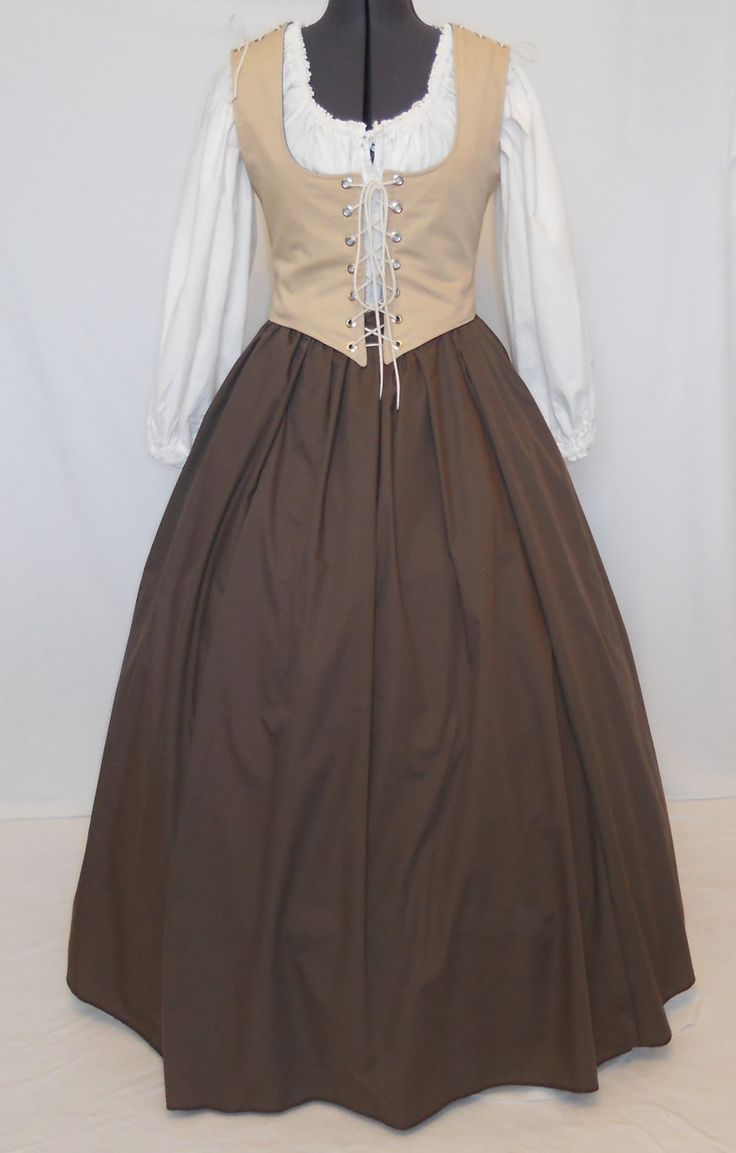 Renaissance Dress Pirate Tavern Wench Peasant by MidnightsMeadow
