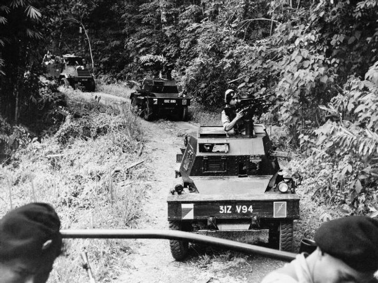 Commonwealth troops on the move.THE MALAYAN EMERGENCY 1948-1960 | Imperial War Museums