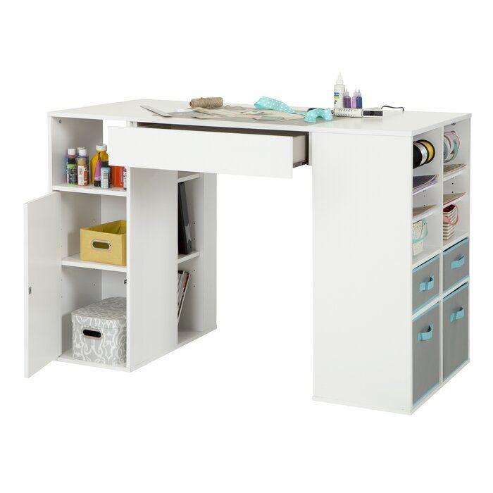 Crea Craft Table Reviews Birch Lane Craft Tables With Storage Craft Table Diy Craft Table