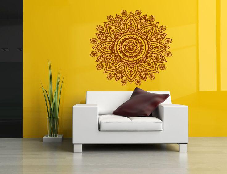 91 best Flower decor images on Pinterest | Vinyl wall decals, Vinyl ...