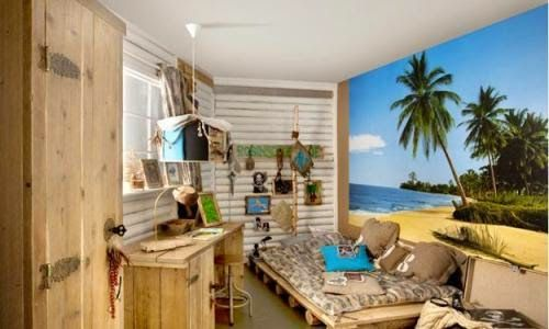 Simple Home Design: Organizing Tips Stylish Modern Kids Room