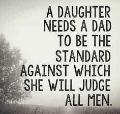 So perfectly said. Girls will choose a man based on what they learned from their own fathers. So thankful for Mat <3