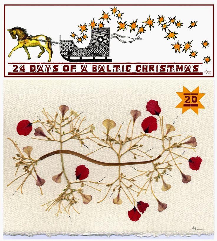 A Baltic Christmas Day 20 Handmade Lithuanian Christmas