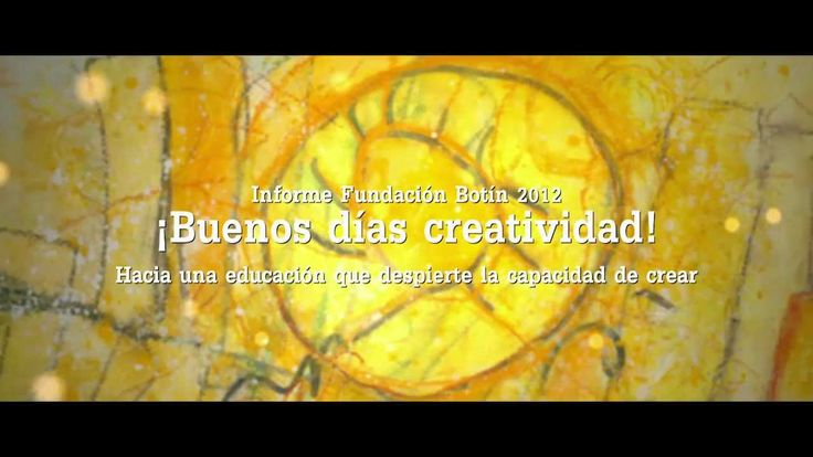"""¡Buenos días #creatividad! ¡A ti también!  """"Hacia una educación que despierte la capacidad de crear""""."""