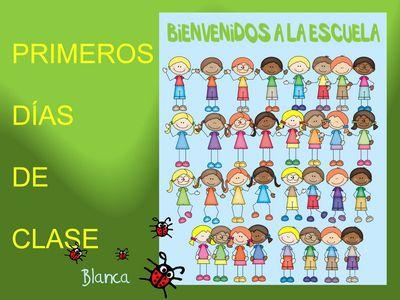 Actividades para Educación Infantil: Primeros días de clase. Periodo de adaptación