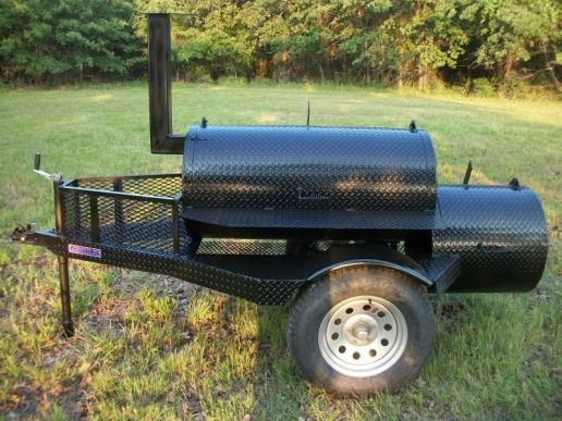 Image detail for -plate pits, Trailer BBQ smoker, patio BBQ smoker - barbeque grills ...