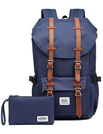 KAUKKO Marken Taschen Damen Herren Outdoor Wasserdicht Camping Wandern Trekking rucksack Blau
