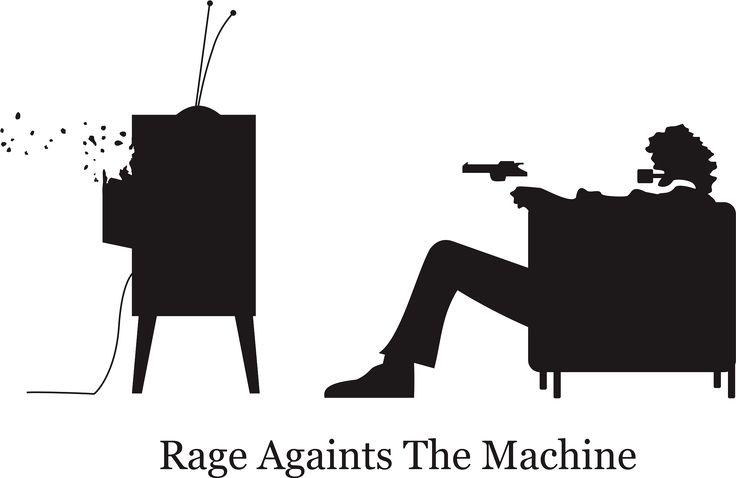 Rage Againts The Machine. Art. Vector. Logo