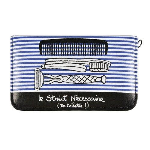 """Trousse de toilette garnie """"Le Strict Nécessaire (De toilette !)"""