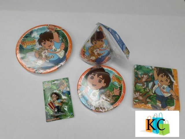 Diego  Lunch plates, desert plates, Napkins, Candle, Hats $37.00 Layby Welcome on All Sets.. $10 per week