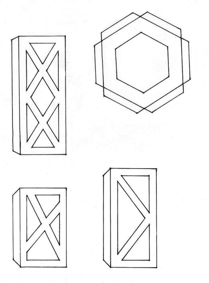 фонарик своими руками шаблоны особому строению