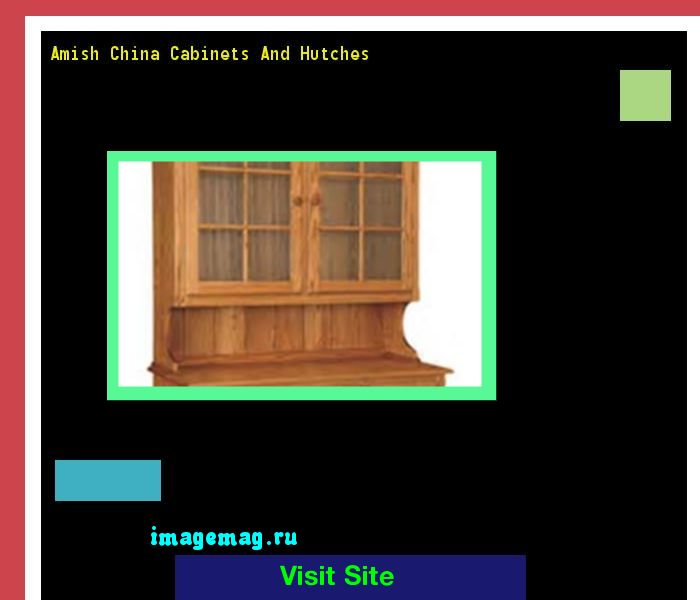 Amish China Cabinets And Hutches 093601 - The Best Image Search