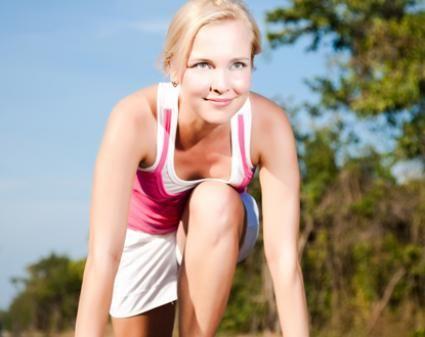 ¡Es hora de correr!  Anímate a practicar ejercicios y mejorar tu salud.