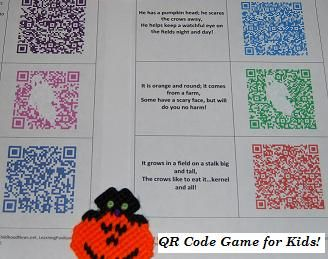 Come PLAY with Us! – QR Code Free Tech Game for Kids!   The Preschool Toolbox Blog