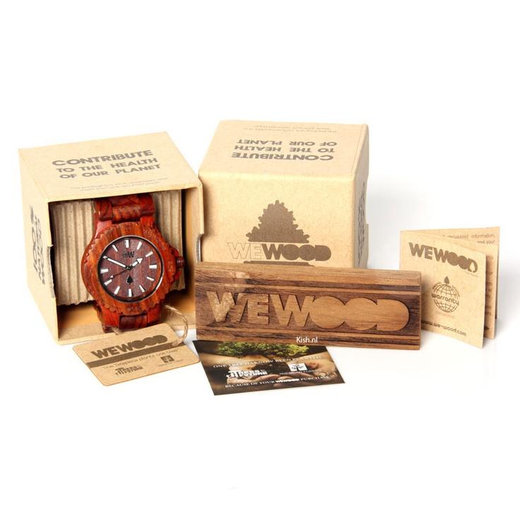 WeWOOD horloges! Duurzame houten horloges | XL formaat!