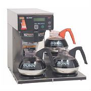 Bunn Coffee Brewer - Automatic AXIOM® Series Medium volume brewing solution featuring simple operation, precise extraction control and a variety of portable servers.