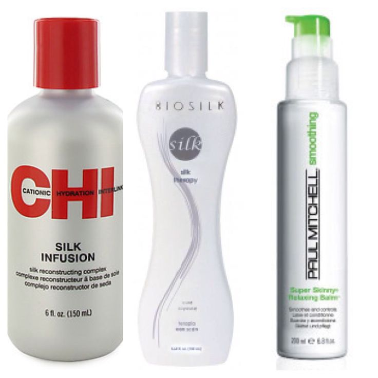 Best products used in silk hair straightening for curly, coily and kinky girls