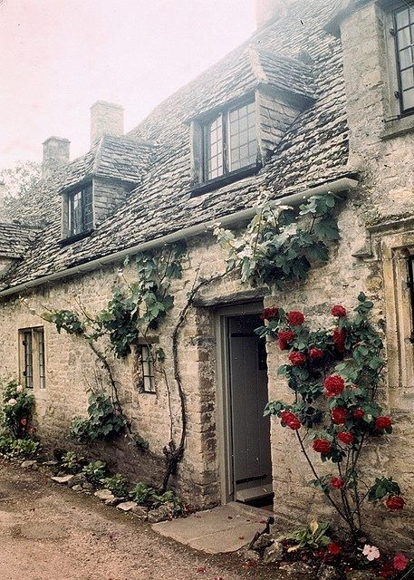 tassels: Arlington Row, Bibury, Gloucestershire by teresue on Flickr