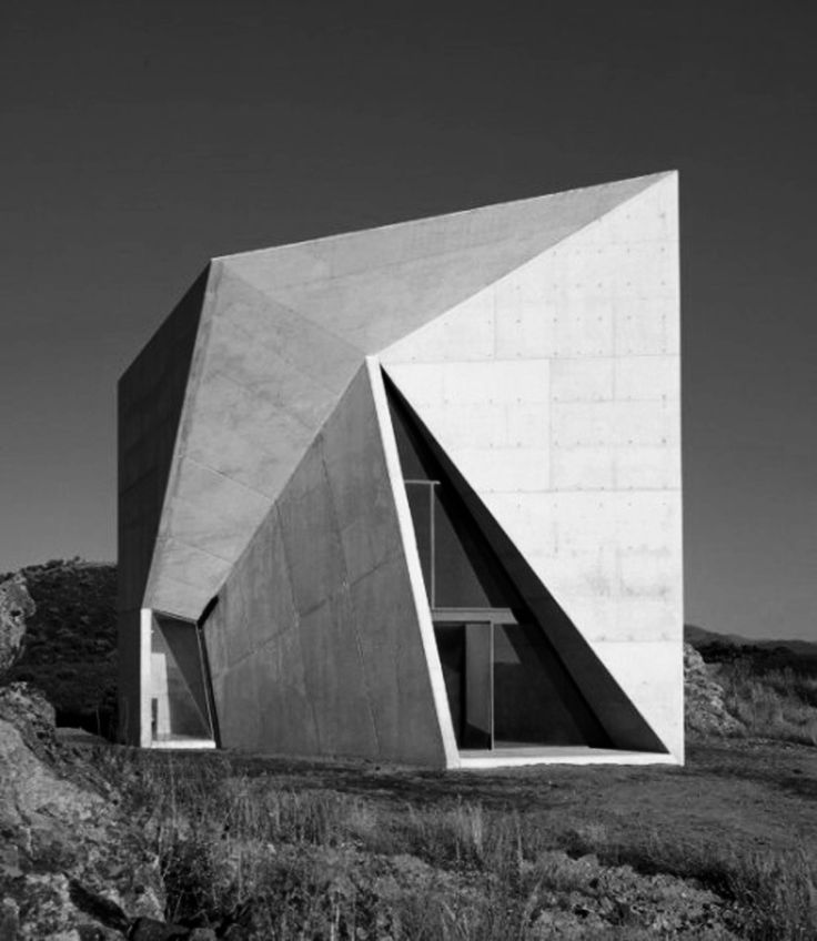 Valleaceron Chapel by Sancho Madridejos Architects.